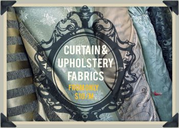 Curtain & Upholstery Fabrics Promotion