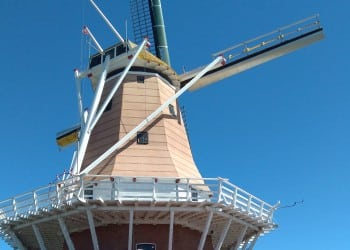 De Molen Dutch Windmill Foxton